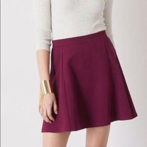 Dynamite Magenta Flare Skirt